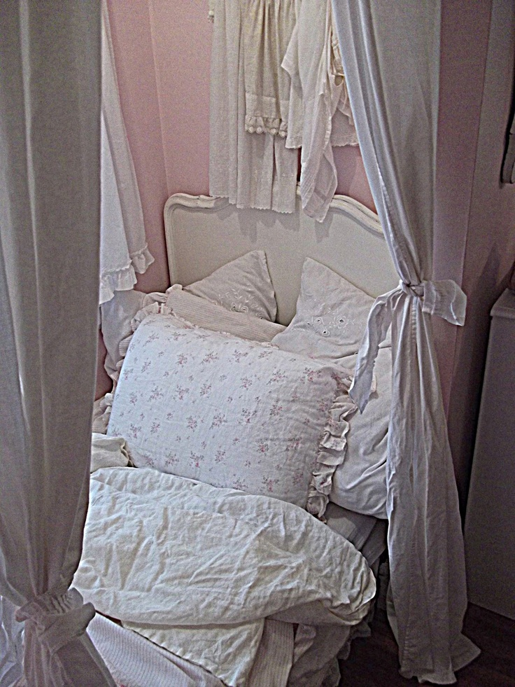 Divide Space With Curtains Find This Pin And More On SHABBY CHIC RACHEL ASHWELL