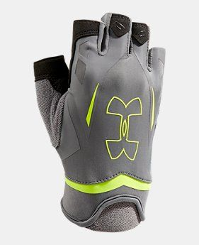 Men's UA Flux Half-Finger Training Gloves