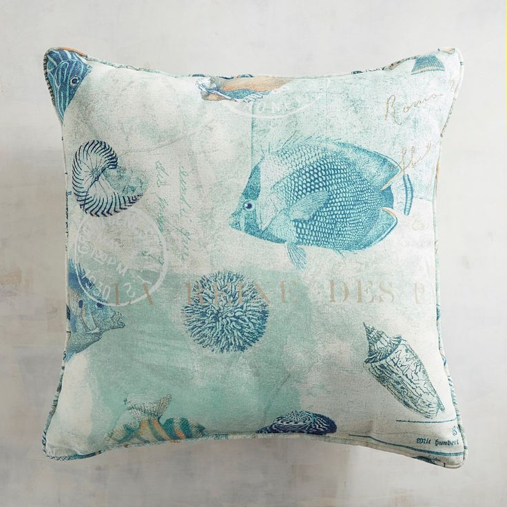 Reef Waters Pillow
