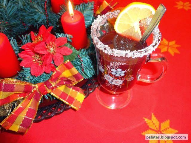 Recept: Vánoční punč