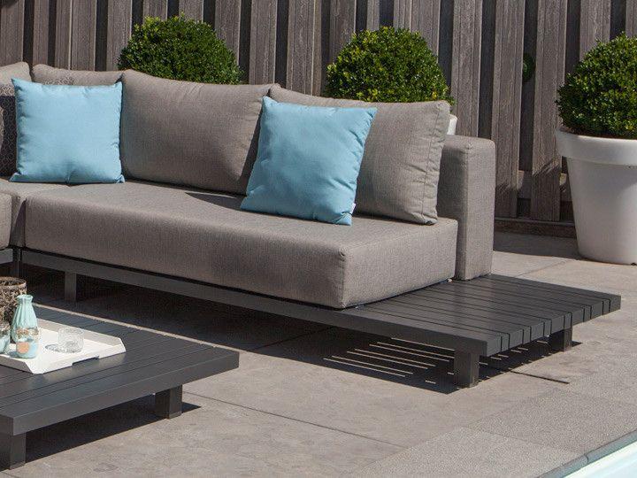 paradiso loungegruppe von exotan alu anthrazit nanotex. Black Bedroom Furniture Sets. Home Design Ideas