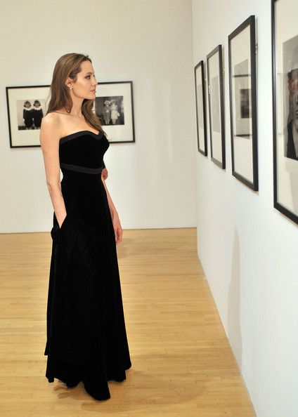 Angelina Jolie - MOCA NEW 30th Anniversary Gala - Cocktails