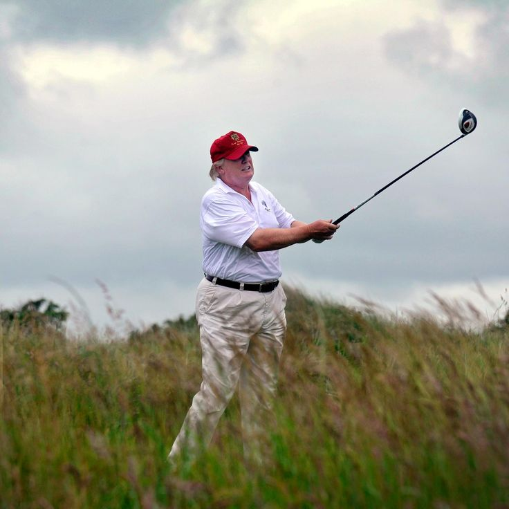 Mr. Trump has now spent eight weekends at Trump-owned properties in Florida, and now New Jersey, since taking office in the White House, at considerable taxpayer expense. He's spent the other eight weekends at the White House, where he's also found time to golf at his course in Potomac Falls, Virginia. This from a man who chastised Obama on several occasions for taking vacations and playing golf. The only thing Trump can surpass Obama in, is his weekend golf trips...at our expense !!