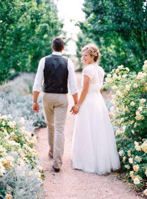 Romantic Australian Wedding photography by http://featherandstone.com.au • Ampelon Garden New South Wales Australia Australian outdoor wedding • Australian mateship