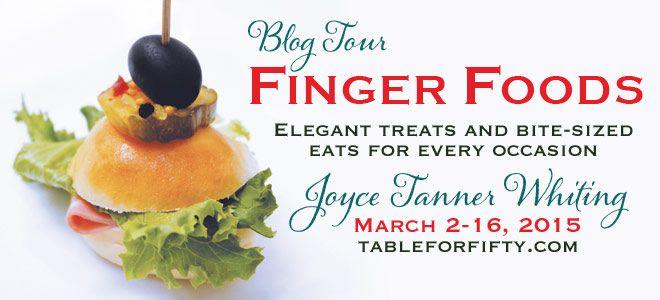 BLOG TOUR TUESDAY: Finger Foods w/Joyce Tanner Whiting | Literary Wonders www.literarywonders.com