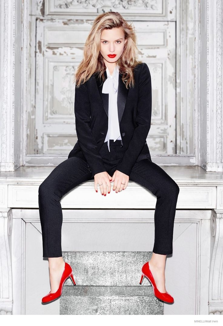 French footwear and accessories label Minelli taps Georgia May Jagger as the face of its fall-winter 2014 advertising campaign.