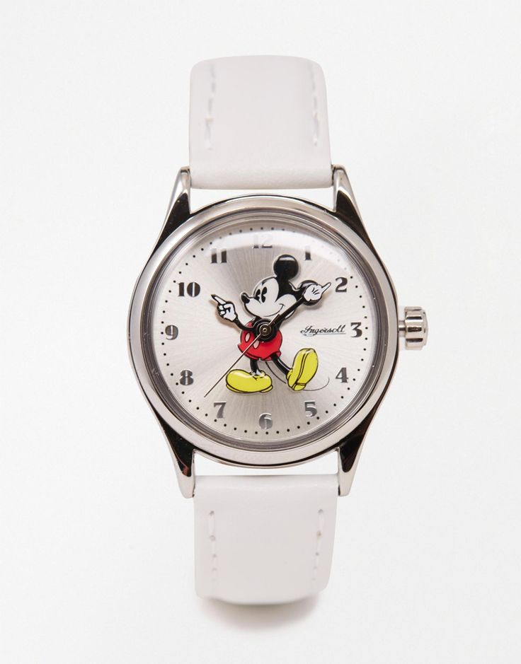 Image 1 of Disney White Mickey Mouse Watch