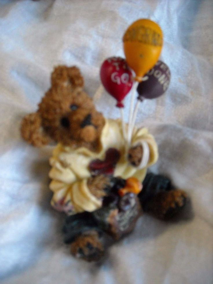 boyds teddy bear congratulation balloon gift good fer u bear way to go job