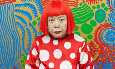 Yayoi Kusama | One of few women to have had a major retrospective at Tate Modern. Photograph: Jeremy Sutton-Hibbert/Getty Images | Looove her colours!