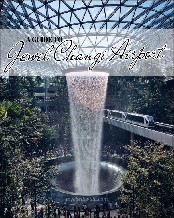 Wordpress Com Changi Visit Singapore Indoor Waterfall