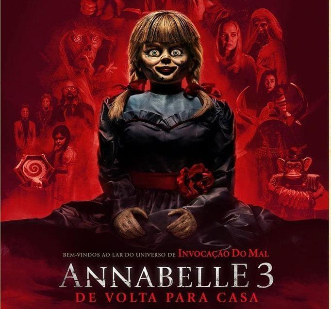 Annabelle 3 De Volta Para Casa Sustos So Comecam A Partir Da