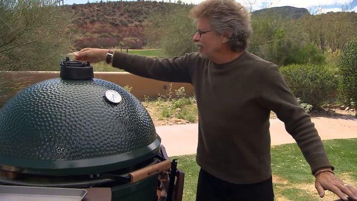Find a Big Green Egg dealer here.  Steven Raichlen's Project Smoke, Big Green Egg Plank Trout