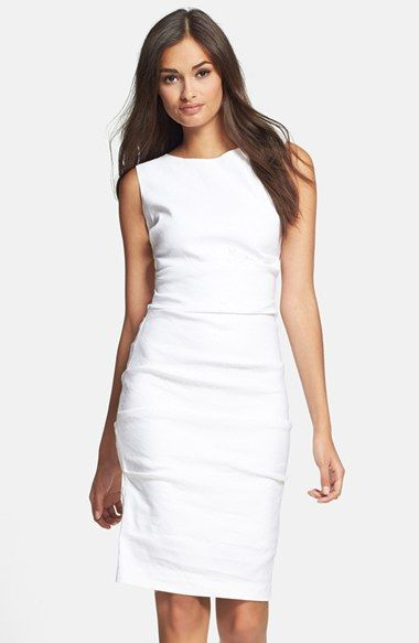 54 best white space images on pinterest woman fashion for Nicole miller wedding dresses nordstrom