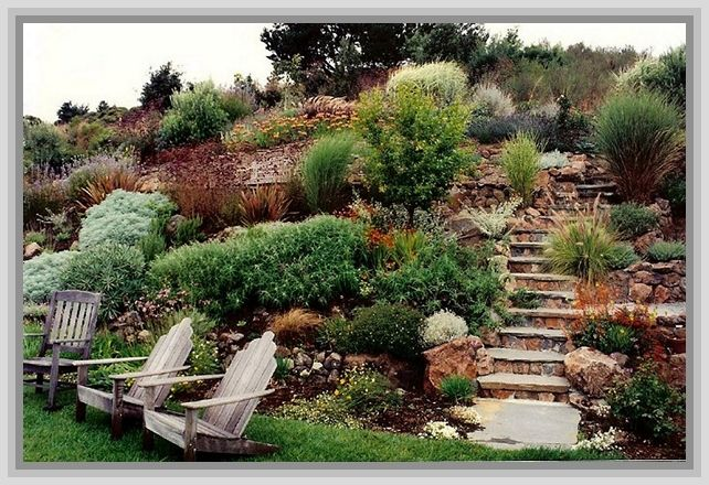 Landscaping Ideas For Flat Front Yard : Best images about slope yard on landscaping