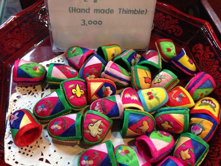 Pretty thimbles