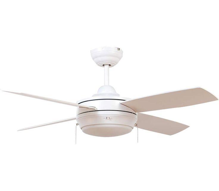 Ellington LAV44MWW4LK Laval 44 Inch Matte White Ceiling Fan