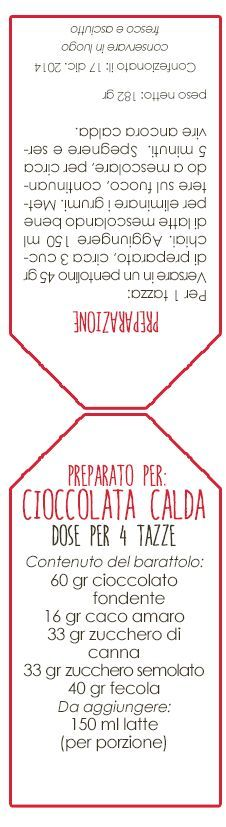 Preparato per cioccolata calda | I Pasticci della Zia Tata