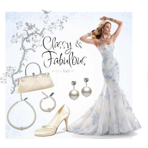 """Blue wedding"" by fleurzie on Polyvore"