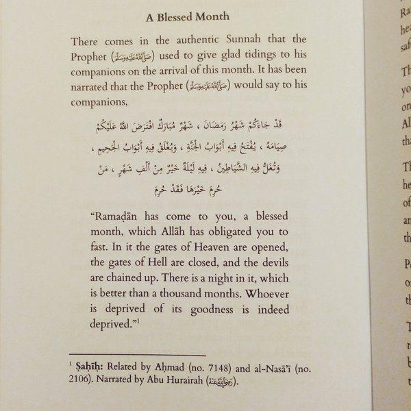 Ramadan is almost here inshallah