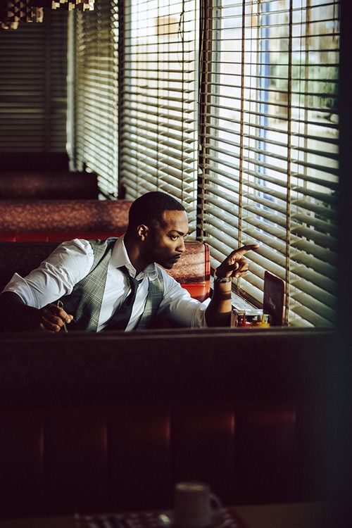 Anthony Mackie. Photograhed By Nicholas Maggio.