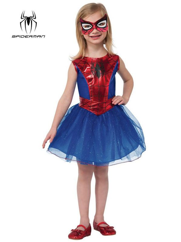 Check out Girls Spider Girl Tutu Costume - Superheroes Costumes from Costume Super Center