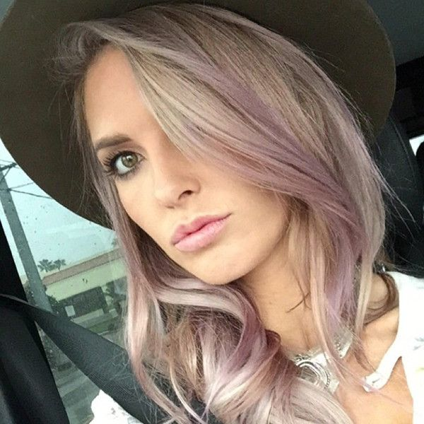 "Audrina Patridge Dyes Her Hair ""Dusty Violet""—See Her New Lavender Locks!  Audrina Partridge, Hair"