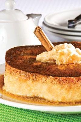 ¿Quién podría resistirse a este delicioso flan de chongos zamoranos? Atrévete a prepararlo y darle un toque especial con un poco de canela en polvo.