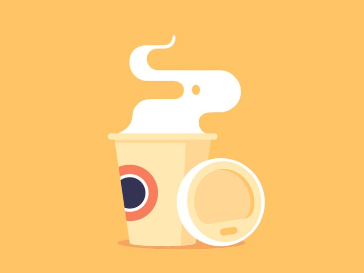 Citibank Spot Animations Coffee by Valentin Kirilov #Design Popular #Dribbble #shots