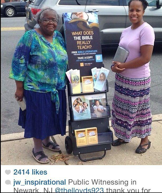 Pin on public witnessing
