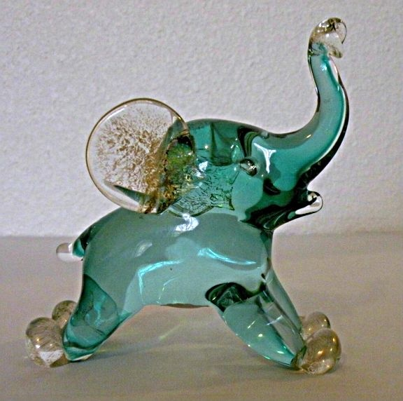Captivating Archimede Seguso Murano Elephant