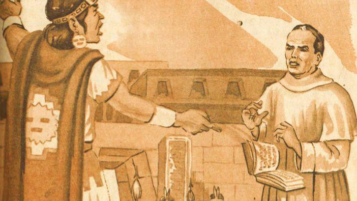 """Y Atahualpa arrojó la biblia al suelo... -  En la historia hay episodios milimétricos que definen el destino del mundo, en el caso de la historia que te voy a contar, decidió el destino del mundo inca.    Atahualpa al recibir a los españoles amablemente, osaron despreciar la bebida que el emperador les ofreció, posteriormente ellos le ofrecieron la biblia con la que aseguraban que su dios era superior, a lo que Atahualpa ofendido por lo recién sucedido les dijo en pocas palabras """"Tú libro no…"""