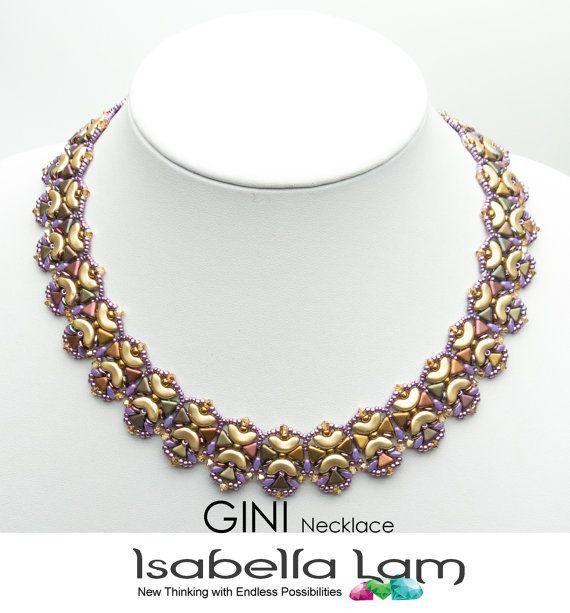 GINI ARCOS KHEOPS MiniDuo y OBeads corte collar Pdf por bead4me