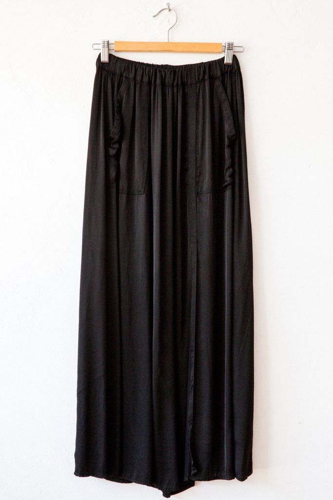 raquel allegra black maxi skirt – Lost & Found