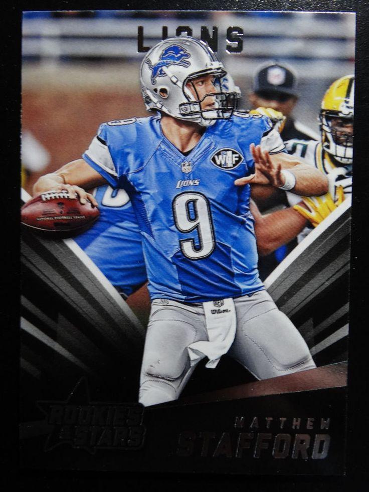 2015 Panini Rookies & Stars #67 Matthew Stafford Detroit Lions Card #DetroitLions