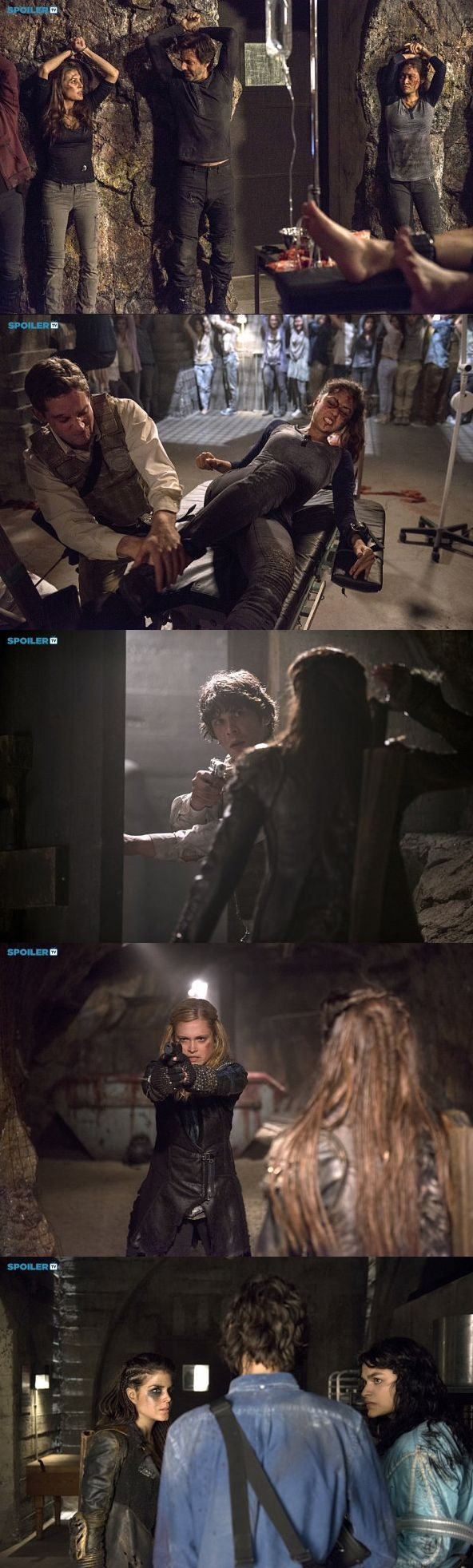 The 100 season 2 episode 16 - Blood most have blood pt 2 Promotional Pictures || The 100 season 2 finale || Abby Griffin, Marcus Kane, Raven Reyes, Octavia Blake, Bellamy Blake, Clarke Griffin, Jasper Jordan, Maya