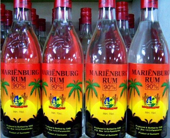 Mari 235 Nburg Rum 90 Suriname Suriname And Dutch Food