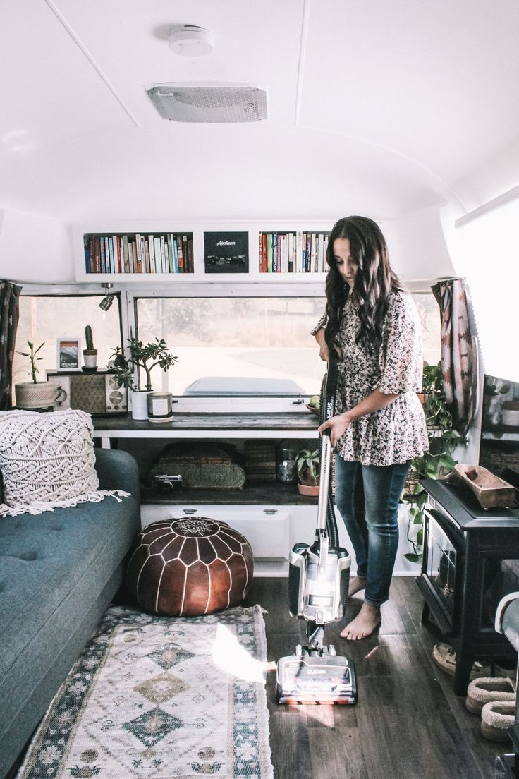 This Cute Renovated Tiny Home on Wheels is Called Augustine the Airstream