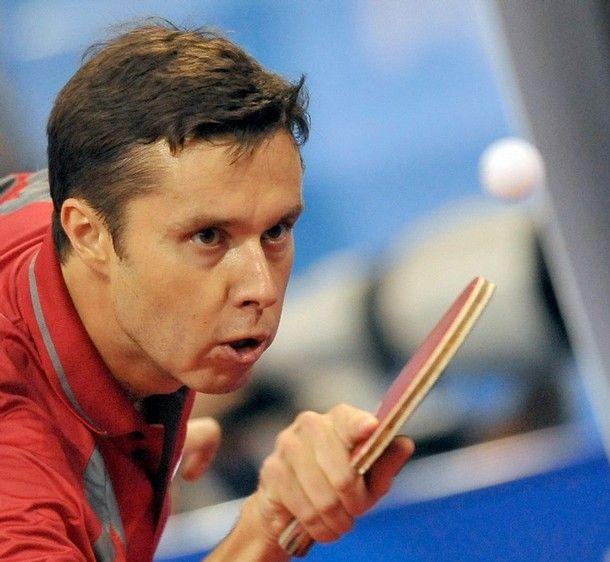 Vladimir Samsonov competing in the Harmony China Open 2011 #tabletennis #vladimirsamsonov #tenismesa #vsport