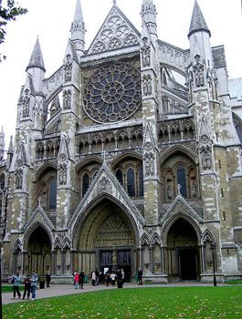 Westminster Abbey: King Henry VIII's coronation and burial site.  Jane Seymour, Anne of Cleves, and many others are buried here.