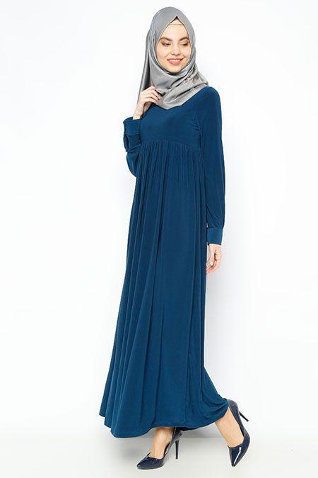 72aed7ddd0695 Allday Tesettür Robalı Elbise Modelleri | Tesettür | Elbise ...