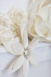 Flow Art Decor,  paper flower , wedding decorations papírvirág