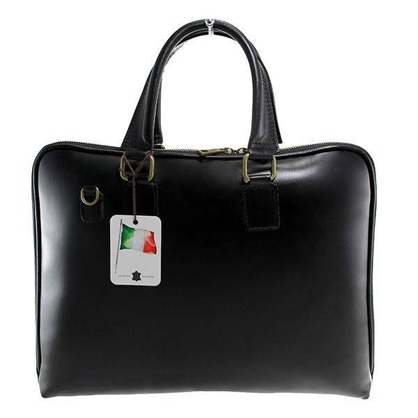 - Laptop tassen - aktetas zwarte kleur soepepe leder