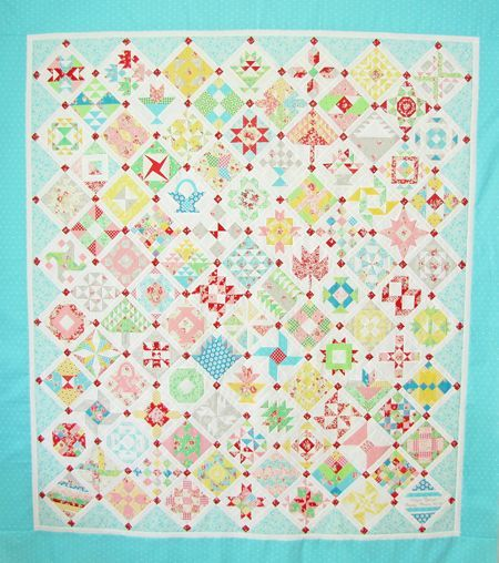 Farmer's Wife Quilt - The Big聽Assembly - Pretty by Hand - Pretty By Hand
