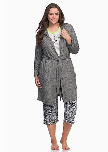 Timeless Robe #takingshape #curvy #plussize #sleepwear