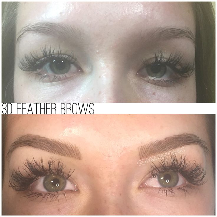 Microblading 3d Hair Strokes: 11 Best Microblading 3D Feather Stroke Eyebrows Images On