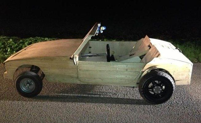 News Teens Pulled Over In Their Almost Street Legal And
