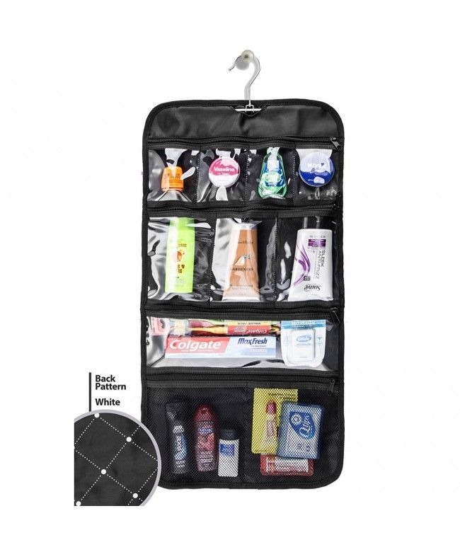 a626a5442d12 Hanging Toiletry Bag Hanging Travel Organizer For Men and Women ...