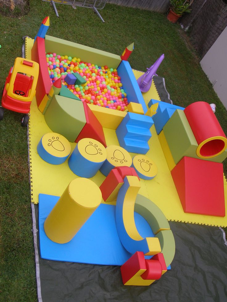 Tumbling tigers soft play party hire