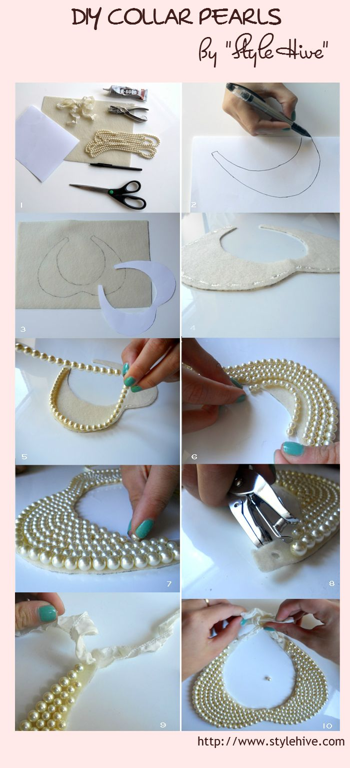 New York can wait...: Tutorial // Peter Pan Collar DIY