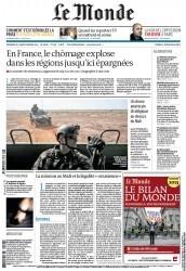 1/27/2013 Le Monde - Un drone américain stratégique au-dessus du Mali